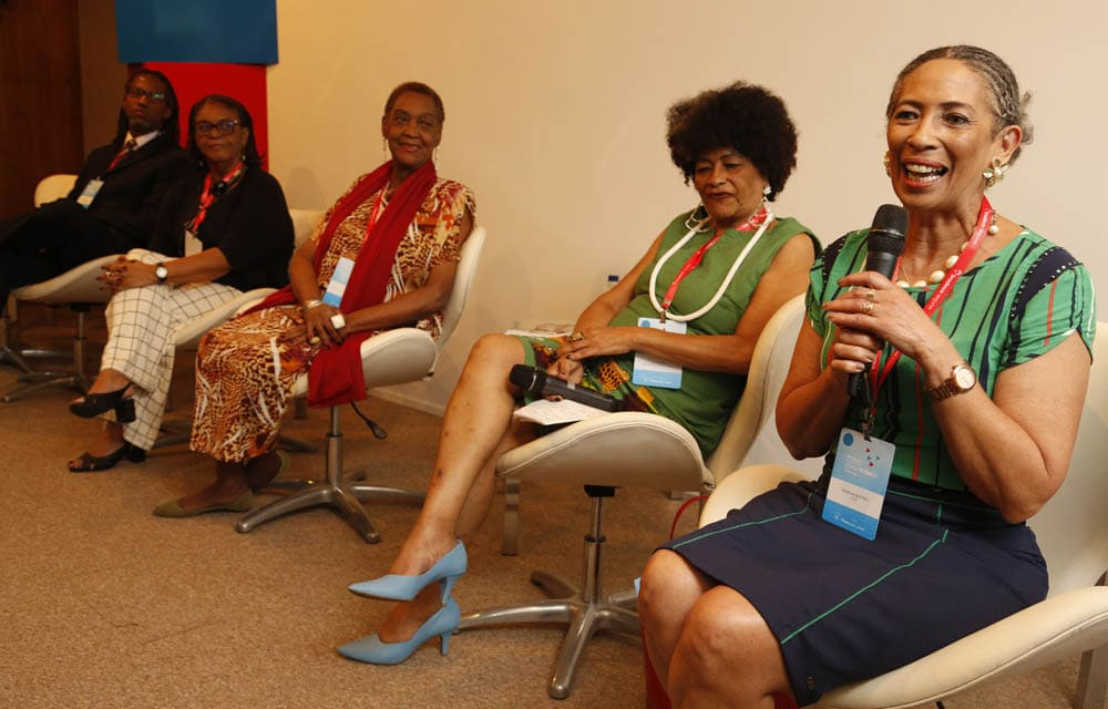 Painel Aspectos transversais - gênero, raça e desigualdades - VI Fórum Internacional da Longevidade